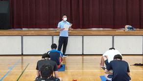 鹿児島高校水泳部専属トレーナーになりました。