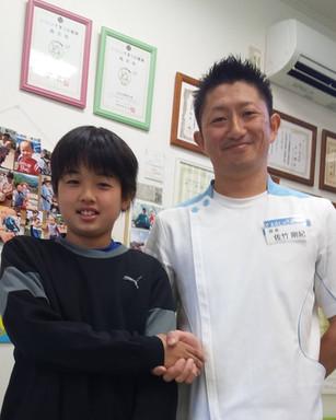 サッカー 小林素大選手