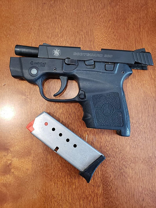 M&P Bodyguard.380 with laser, used