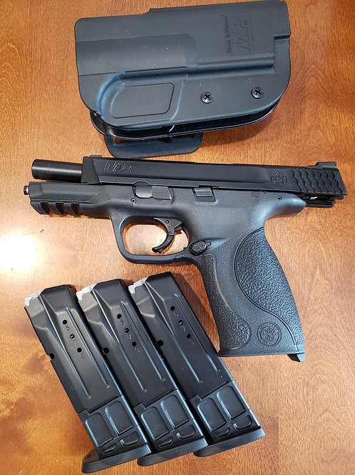 M&P full size 9mm unfixed with accessories