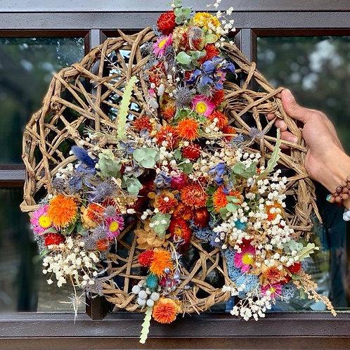 Overgrown Peace Wreath