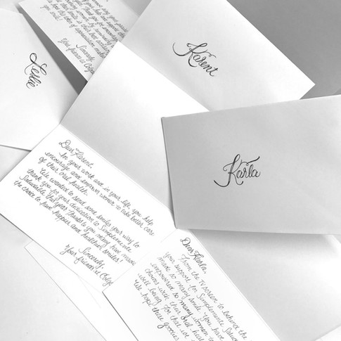 Client Gift Basket Notes