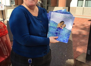 Loie's Disease children's book provides a resource to families across the globe