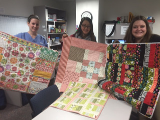 A grandmother uses quilts to honor a child and give hope to families