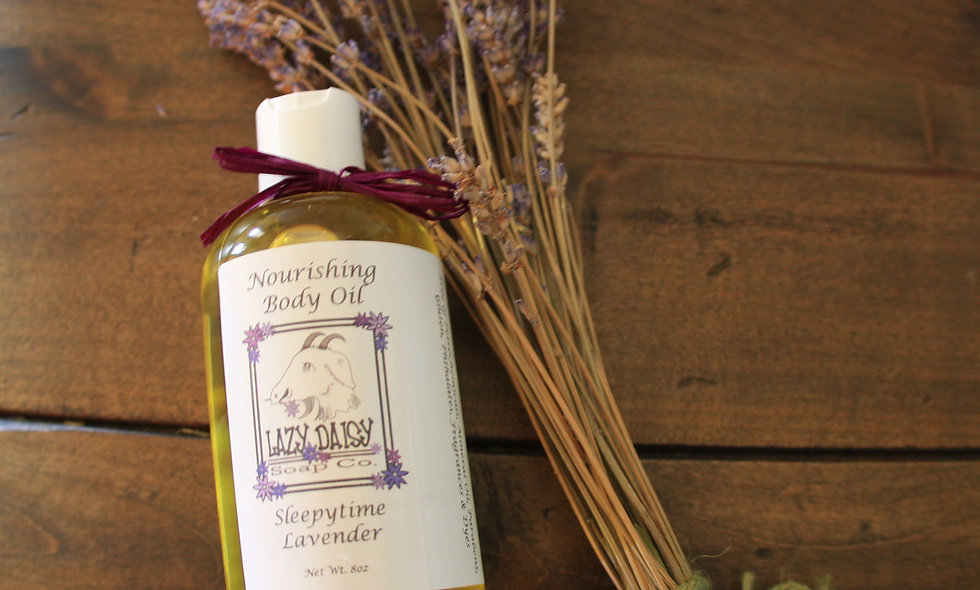 Sleepy time Lavender Body Oil