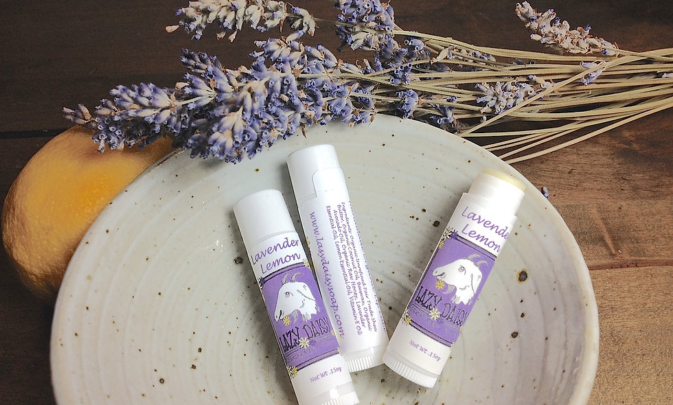Lavender Lemon Lip Lube