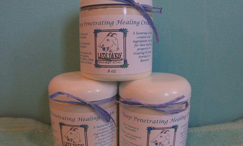 Deep Penetrating Healing Cream for Eczema 8oz