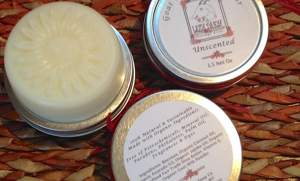 Unscented Lotion Bar