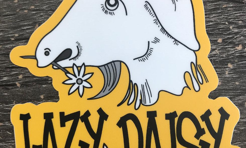 Lazy Daisy Soap Logo Sticker