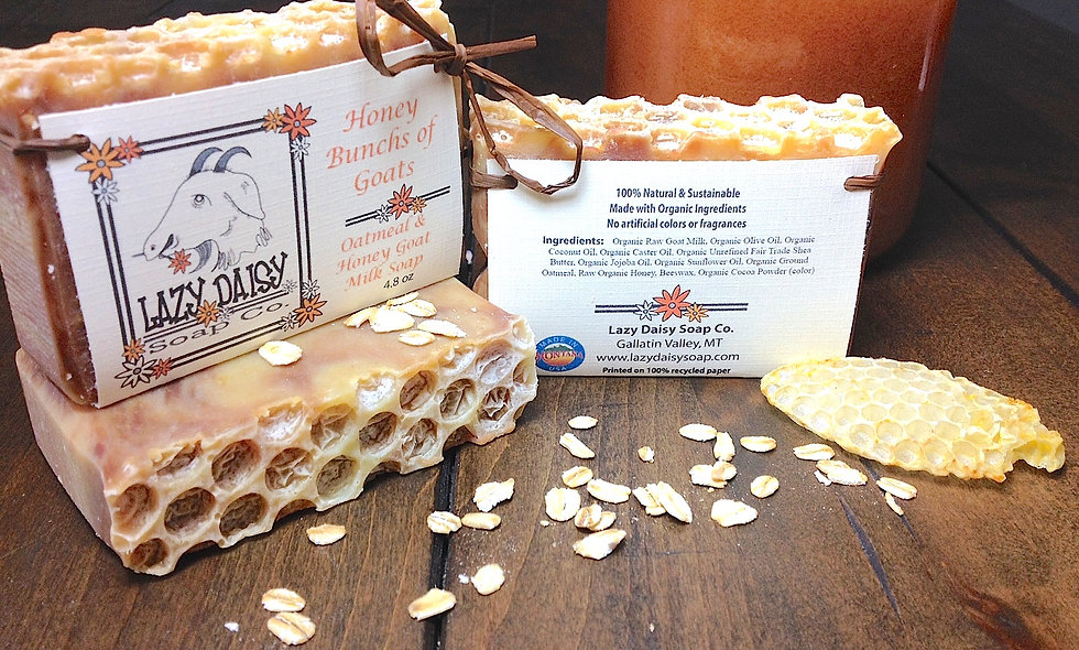 Honey Bunches of Goats Honey & Oatmeal Soap
