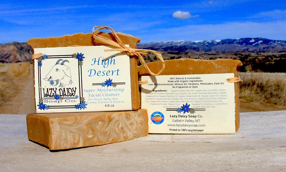 High Desert ~ Super Moisturizing Facial Soap