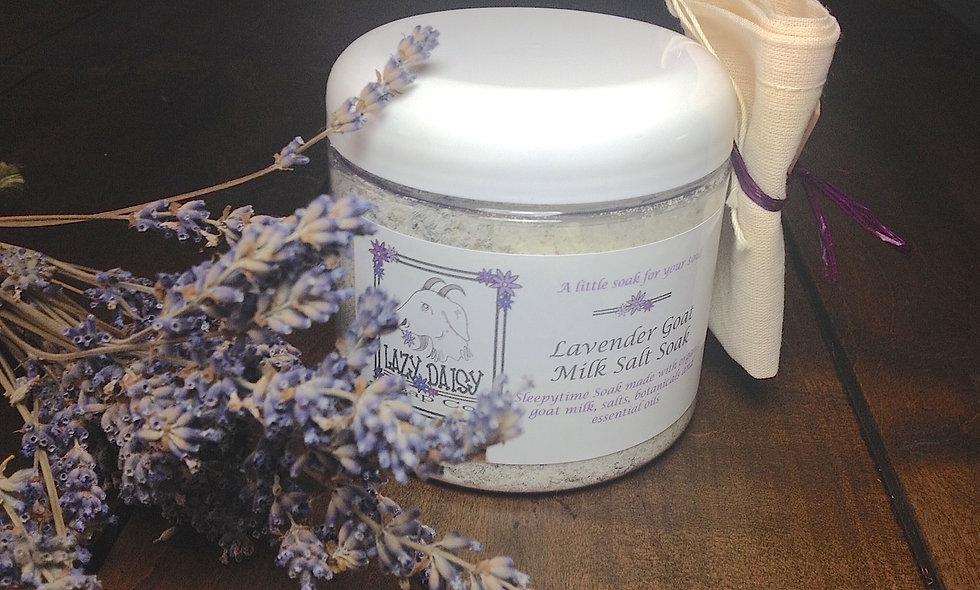 Lavender Goat Milk Salt Soak