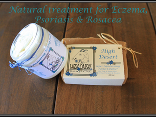 Natural Treatment for Eczema, Psoriasis & Rosacea