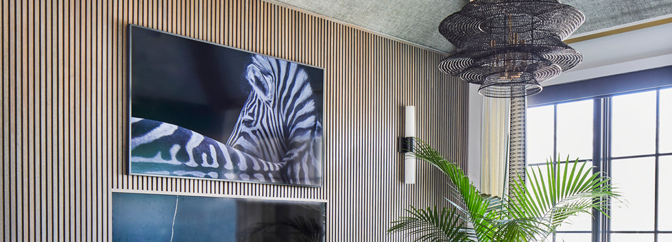 IDS Charlotte Designer Showhouse/ Southern Living Showcase Home Bonus Room Seating Area