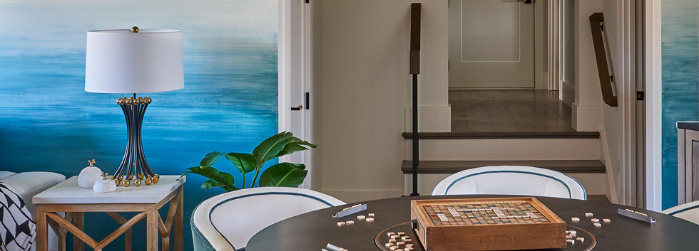 IDS Charlotte Designer Showhouse/ Southern Living Showcase Home - Bonus Room Game Table