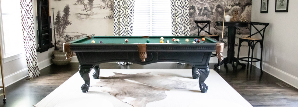 Fun & Family Game Room - Billiards Table Full View