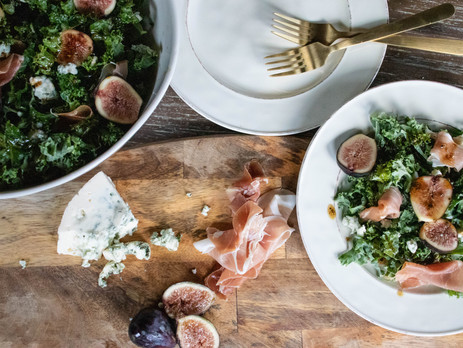 Fig and Proscuitto Salad