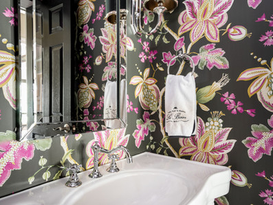 Powder Rooms with WOW Factor!