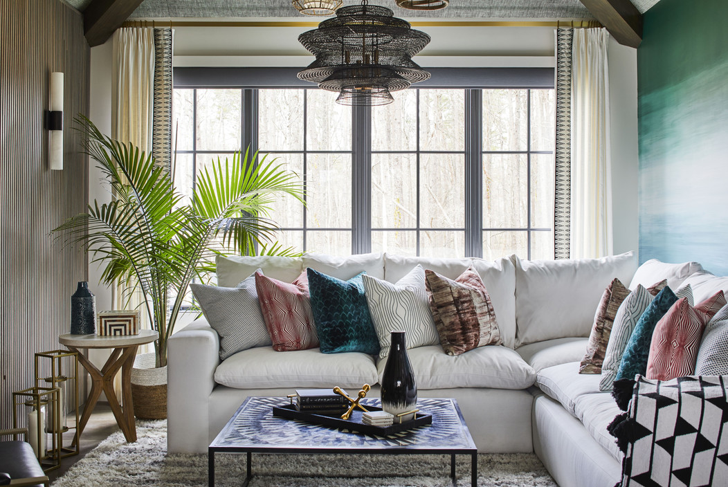 IDS Charlotte Designer Showhouse/ Southern Living Showcase Home - Bonus Room Living room Space