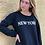 Thumbnail: Polerón negro New York cuello polo
