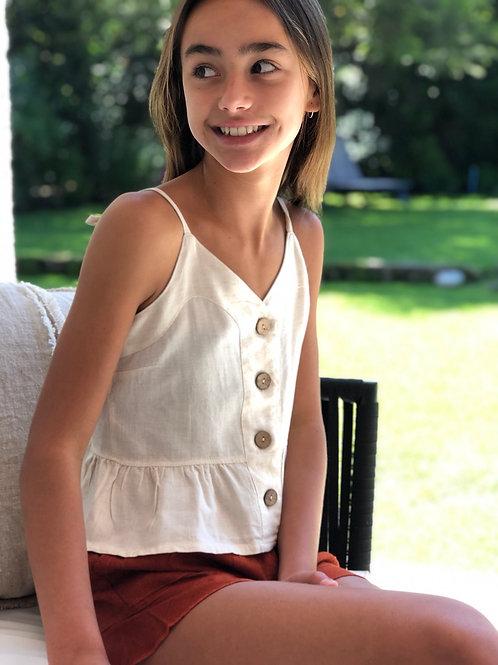Blusa Amalia Crudo