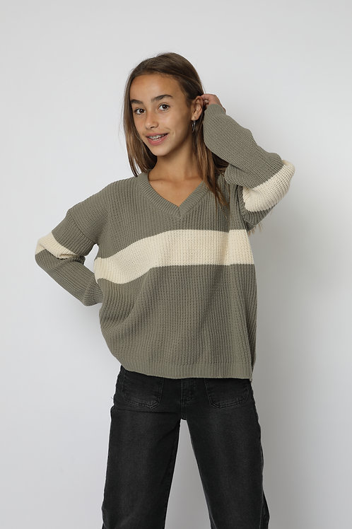 Sweter cemento