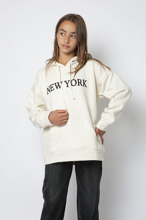 Polerón crudo New York canguro