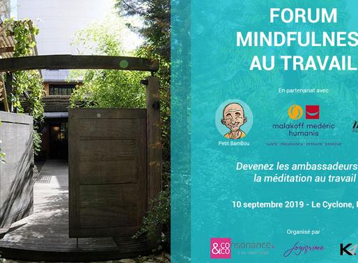 Conférence – Mindfulness au Travail