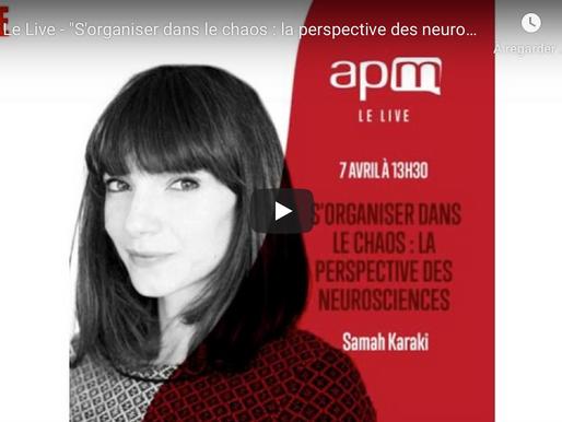 S'organiser dans le chaos : la perspective des neurosciences