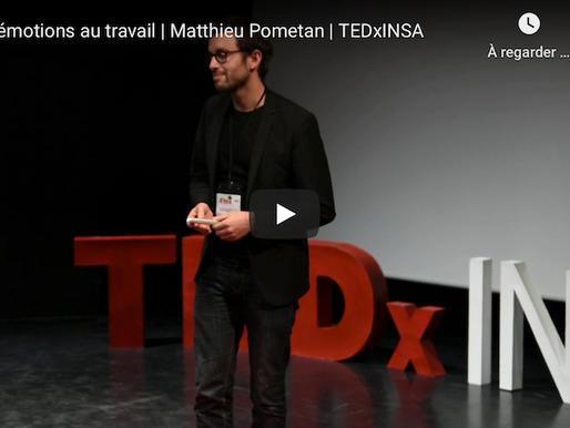 Les émotions au travail | Matthieu Pometan | TEDxINSA