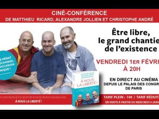 Conférence - Être libre, le grand chantier de l'existence