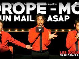 Un peu d'humour : Drop moi un mail ASAP