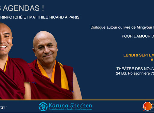 Conférence - Pour l'amour du monde, les pérégrinations d'un moine bouddhiste