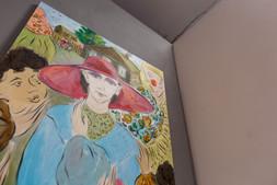 Константин Прусов. «Парижанка» на экспозиции