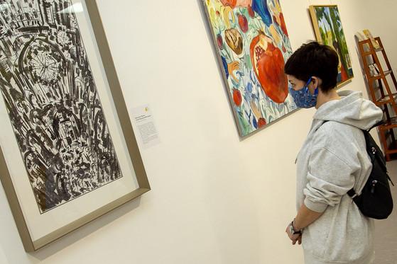 Экспозиция выставки «Марфа у да Винчи»