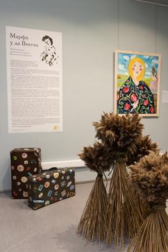 «Уголок Марфуши» первым встречает зрителей выставки