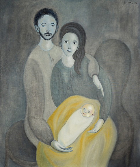 The Christmas photograph (Holy Family). 2012
