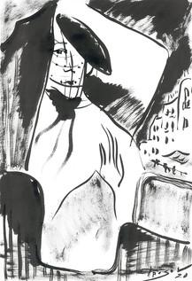 Константин Прусов. Парижанка. 2020