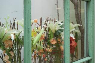 «Уголок Марфуши». Фрагмент флористической инсталляции