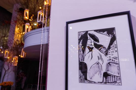 «Парижанка» на экспозиции