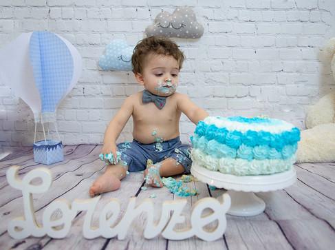 cake smash Lorenzo