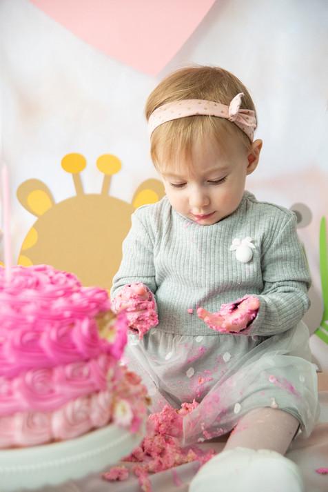 Smash Cake Rebecca