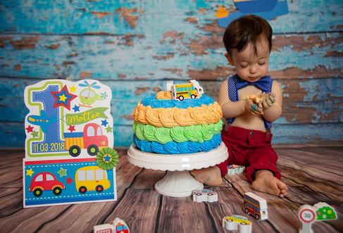 smash cake Matteo