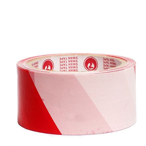 Red and white warning tape (per Roll)