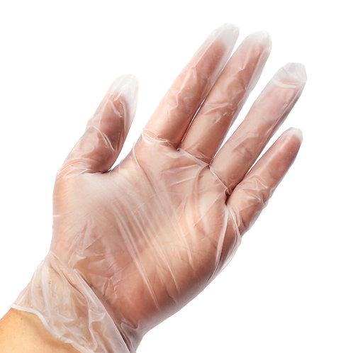 Vinyl hand gloves