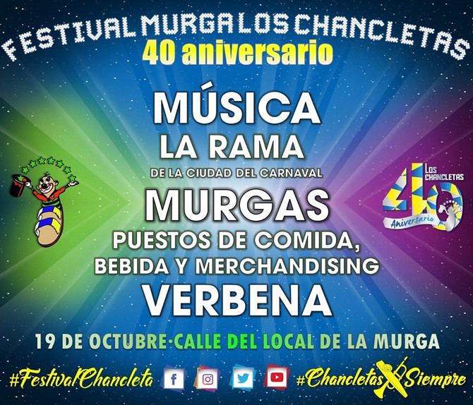Actuaciones del Festival Chancleta