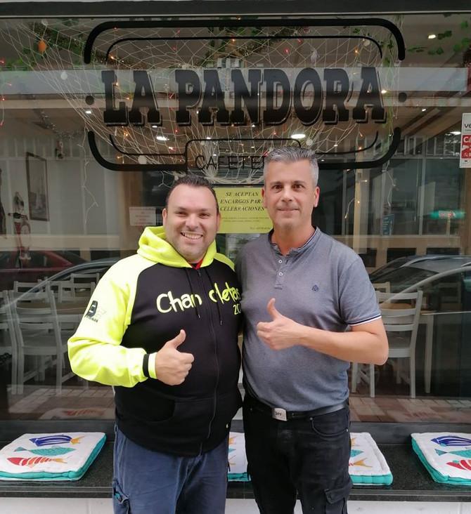 Bar Cafetería La Pandora patrocina Los Chancletas