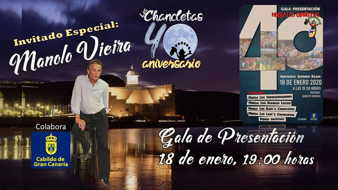 Manolo Vieira: Invitado Especial a la Gala de Presentación 2020