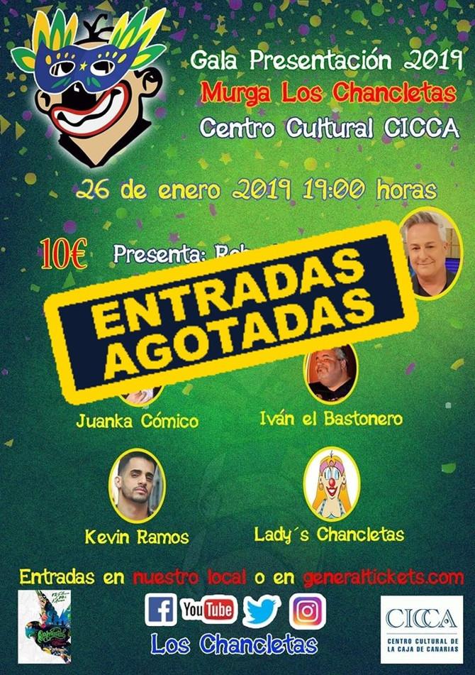 ENTRADAS AGOTADAS Gala Presentación 2019