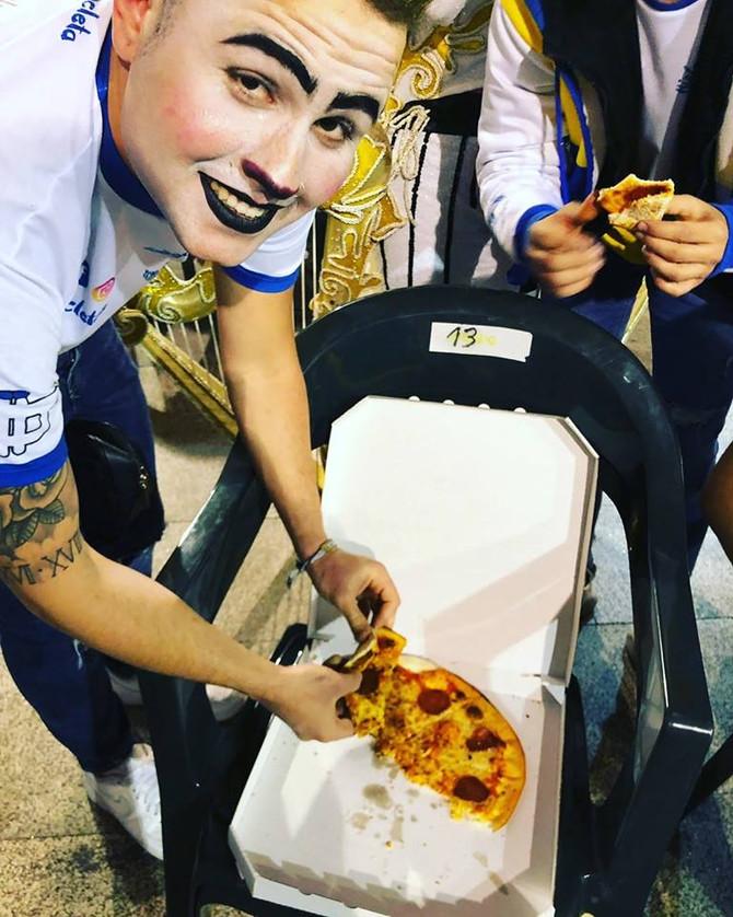 ¡GRACIAS Pizzería Chukuluky!